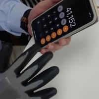 タッチパネル対応の作業用手袋